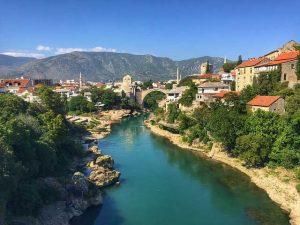 Мостар в Босна и Херцеговина – история и красота на едно място