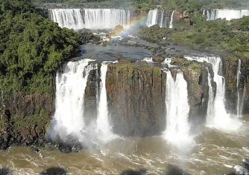 duga nad wodopadi iguasu